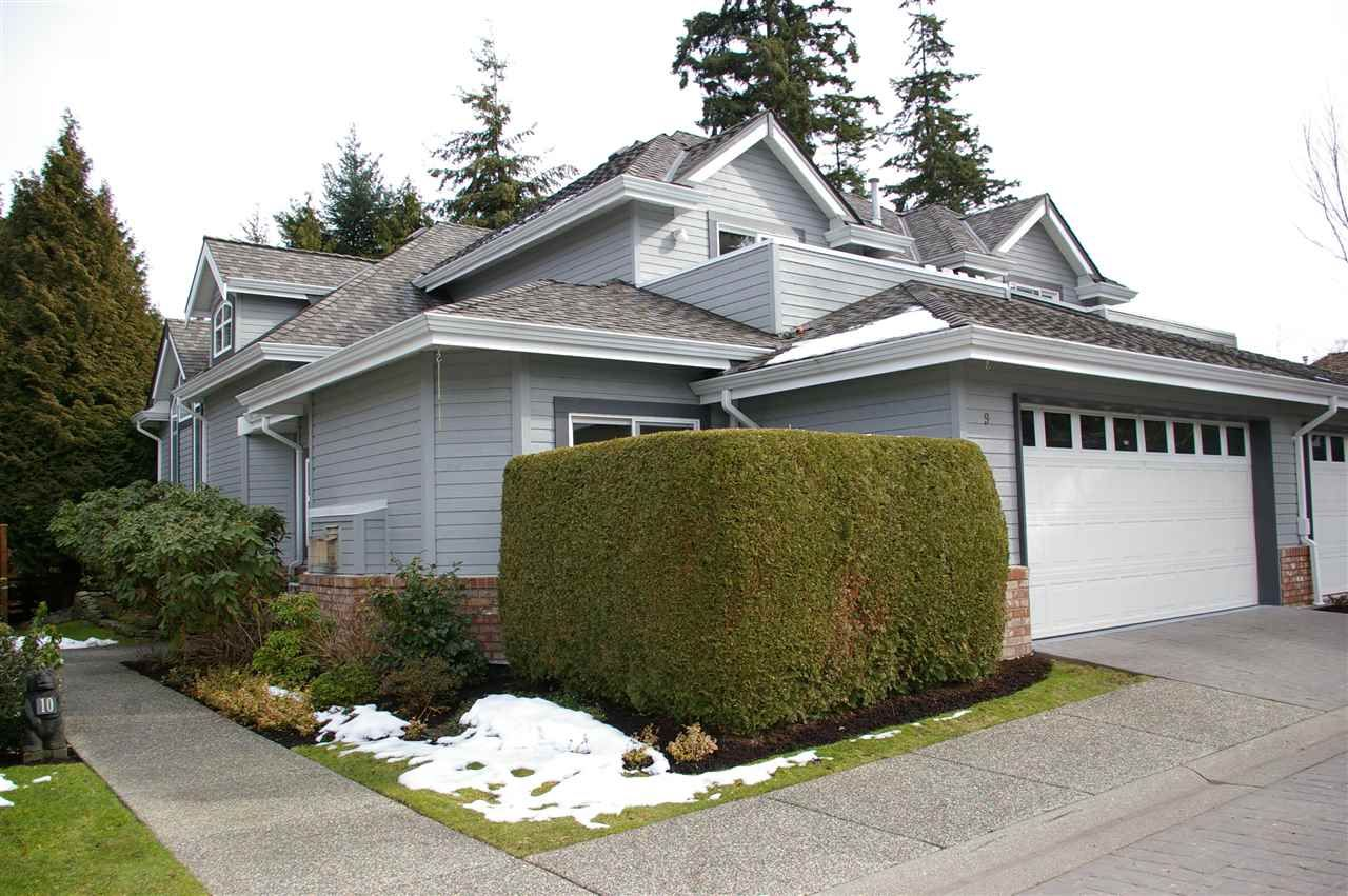 """Main Photo: 9 2168 150A Street in Surrey: Sunnyside Park Surrey Townhouse for sale in """"Southampton Estates"""" (South Surrey White Rock)  : MLS®# R2146824"""
