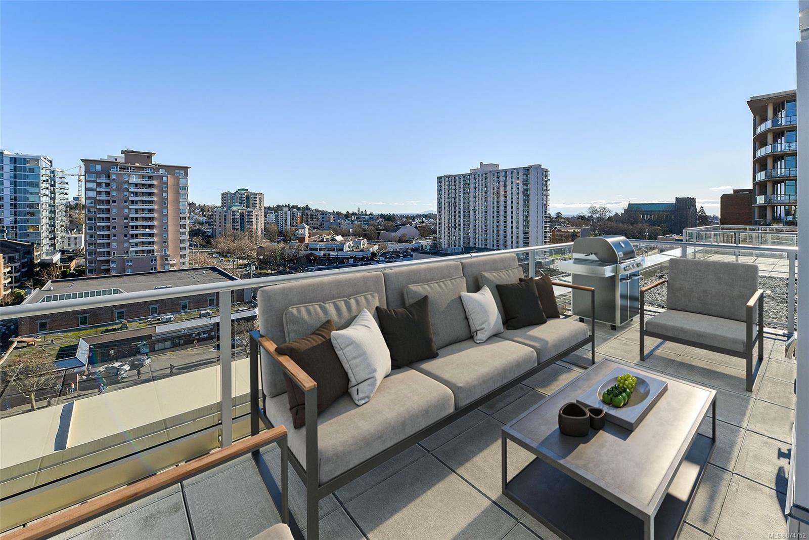 Main Photo: 1005 848 Yates St in : Vi Downtown Condo for sale (Victoria)  : MLS®# 874752