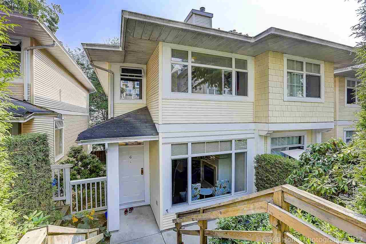 """Main Photo: 6 3586 RAINIER Place in Vancouver: Champlain Heights Townhouse for sale in """"THE SIERRA"""" (Vancouver East)  : MLS®# R2222602"""
