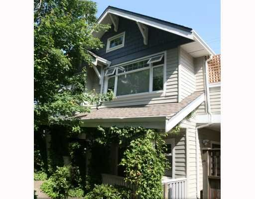 Main Photo: 1965 W 10TH Avenue in Vancouver: Kitsilano Townhouse for sale (Vancouver West)  : MLS®# V773523