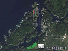 Main Photo: Lot 16 S Bamfield Rd in : PA Bamfield Land for sale (Port Alberni)  : MLS®# 876816