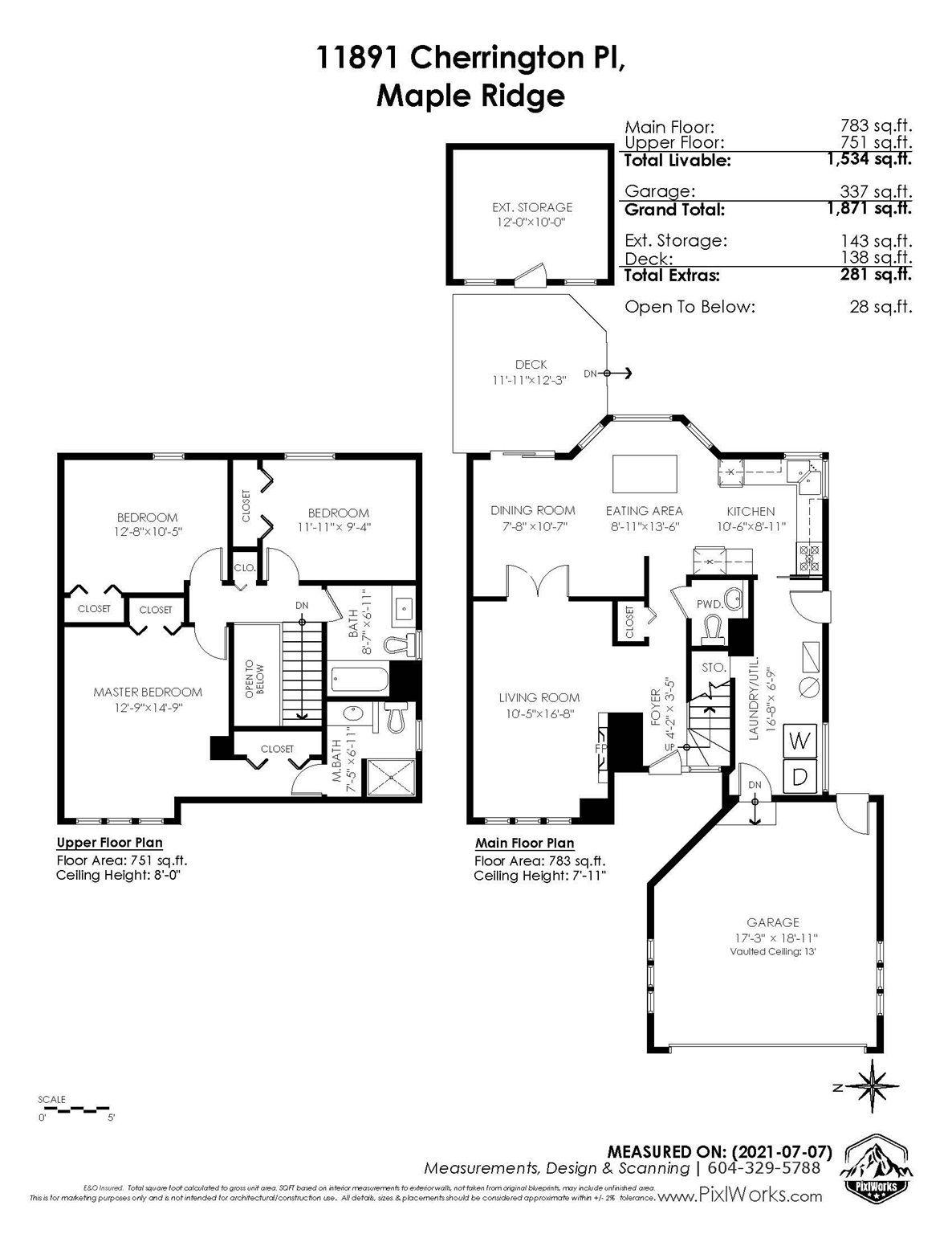 "Photo 36: Photos: 11891 CHERRINGTON Place in Maple Ridge: West Central House for sale in ""WEST MAPLE RIDGE"" : MLS®# R2600511"