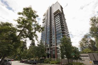 "Photo 1: 707 301 CAPILANO Road in Port Moody: Port Moody Centre Condo for sale in ""The Residence by Onni"" : MLS®# R2285041"