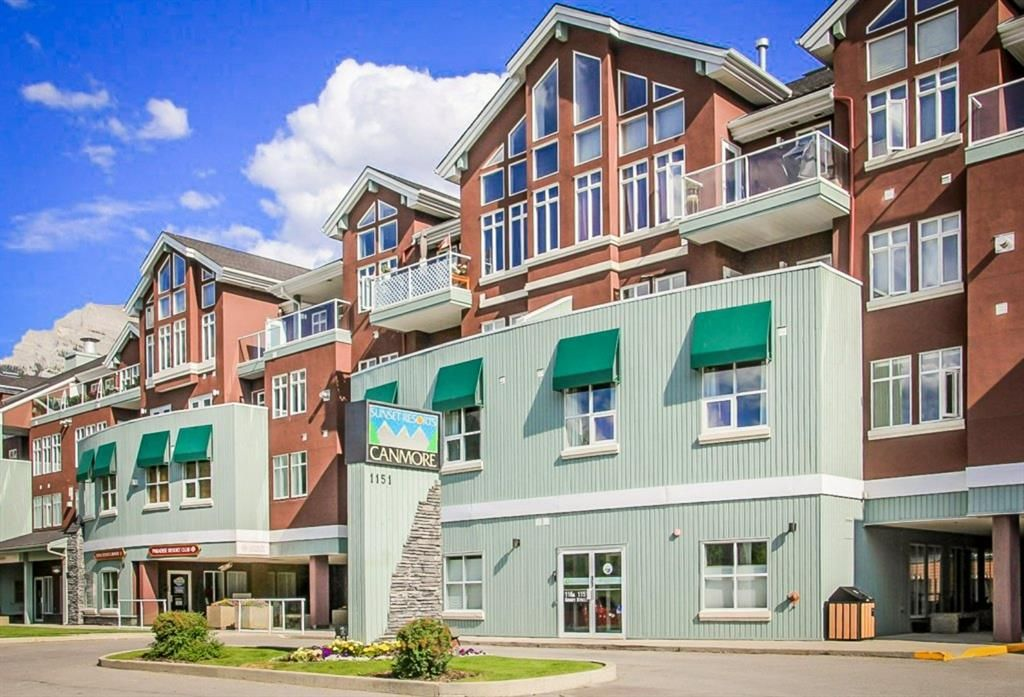 Main Photo: 310 1151 Sidney Street: Canmore Apartment for sale : MLS®# A1132588