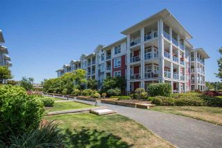 "Photo 1: 301 4600 WESTWATER Drive in Richmond: Steveston South Condo for sale in ""COPPER SKY EAST"" : MLS®# R2343805"