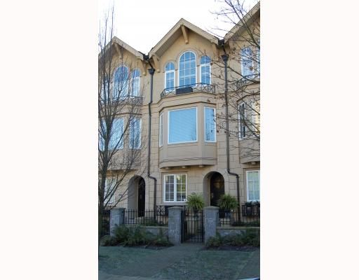 """Main Photo: 906 W 13TH Avenue in Vancouver: Fairview VW Townhouse for sale in """"THE BROWNSTONE"""" (Vancouver West)  : MLS®# V812417"""