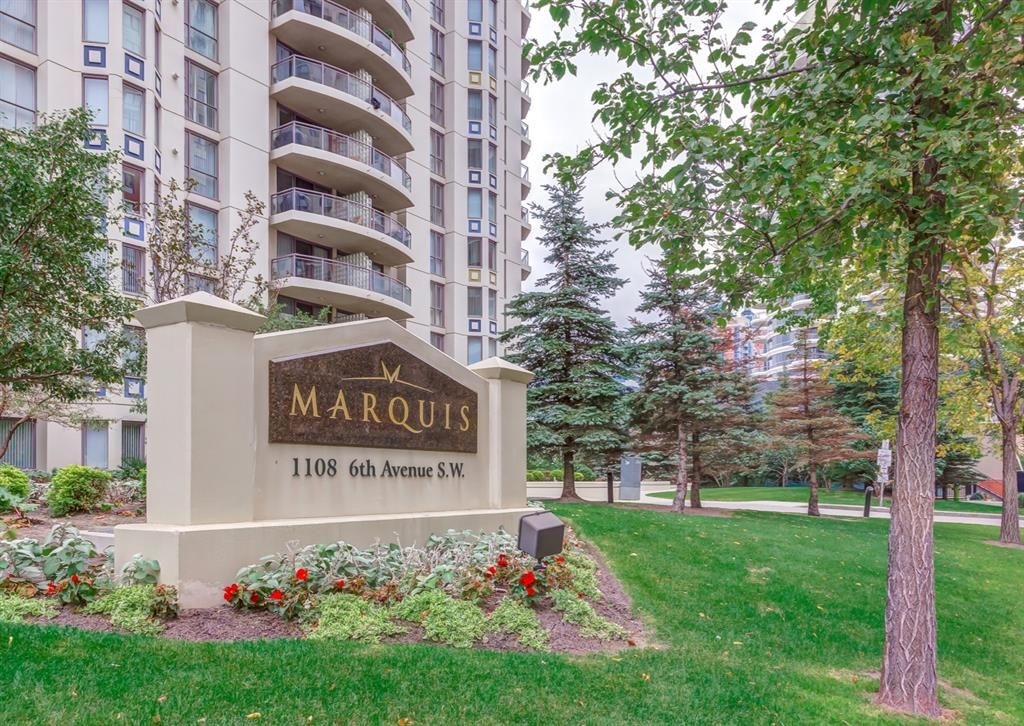 Main Photo: 1206 1108 6 Avenue SW in Calgary: Downtown West End Apartment for sale : MLS®# A1119135