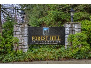 "Photo 15: 5 65 FOXWOOD Drive in Port Moody: Heritage Mountain Townhouse for sale in ""FOREST HILLS"" : MLS®# V1054464"