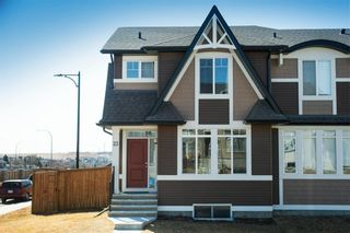 Photo 1: 23 Willow Crescent: Okotoks Semi Detached for sale : MLS®# A1083927