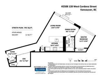 """Photo 19: 2508 128 W CORDOVA Street in Vancouver: Downtown VW Condo for sale in """"WOODWARDS"""" (Vancouver West)  : MLS®# R2625433"""
