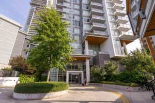 """Photo 1: 1402 520 COMO LAKE Avenue in Coquitlam: Coquitlam West Condo for sale in """"The Crown"""" : MLS®# R2619020"""