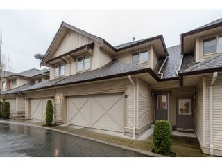 """Photo 1: 80 20350 68 Avenue in Langley: Willoughby Heights Townhouse for sale in """"SUNRIDGE"""" : MLS®# R2029357"""