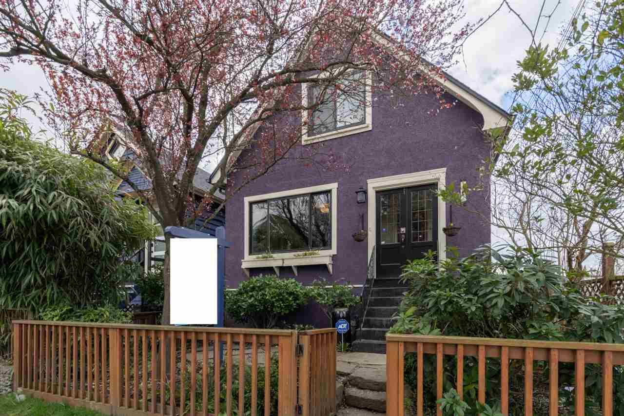 Main Photo: 1724 MCSPADDEN AVENUE in : Grandview Woodland House for sale (Vancouver East)  : MLS®# R2448758