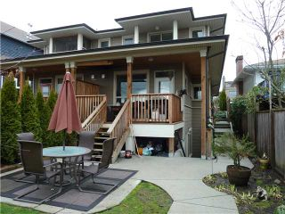 Photo 10: 317 E 5TH Street in North Vancouver: Lower Lonsdale 1/2 Duplex for sale : MLS®# V1051265
