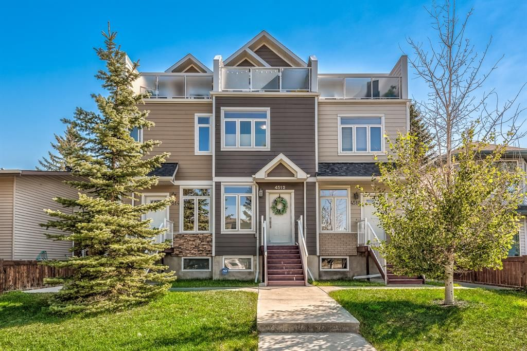 Main Photo: 4512 73 Street NW in Calgary: Bowness Row/Townhouse for sale : MLS®# A1138378