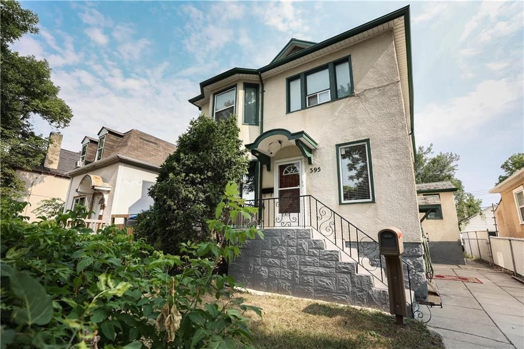 Main Photo: 395 Pritchard Avenue in Winnipeg: North End Residential for sale (4A)  : MLS®# 202119197