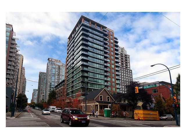 Main Photo: # 1807 1088 RICHARDS ST in Vancouver: Yaletown Condo for sale (Vancouver West)  : MLS®# V1055333