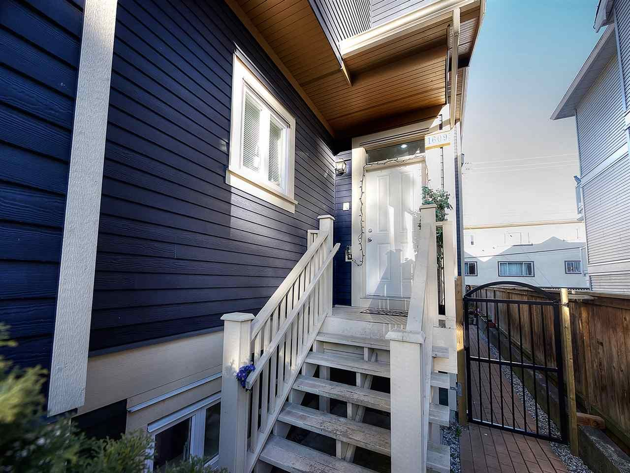 Main Photo: 1609 FRANCES Street in Vancouver: Hastings 1/2 Duplex for sale (Vancouver East)  : MLS®# R2131404