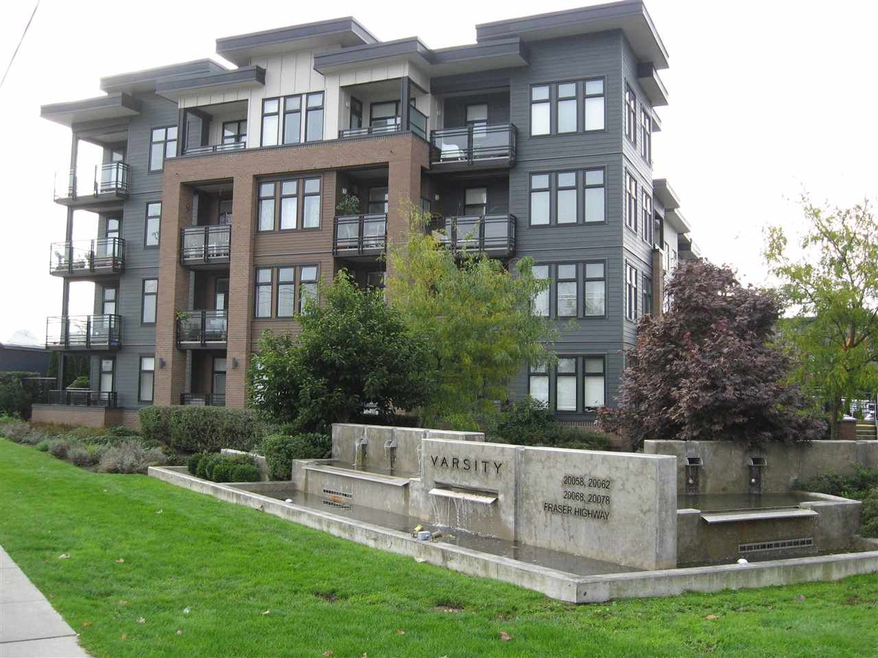 "Main Photo: 301 20078 FRASER Highway in Langley: Langley City Condo for sale in ""Varsity"" : MLS®# R2510892"