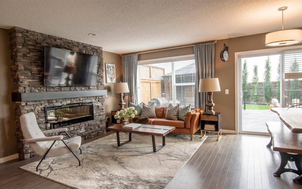 Photo 1: Photos: 281 AUBURN MEADOWS Place SE in Calgary: Auburn Bay Duplex for sale : MLS®# A1014528