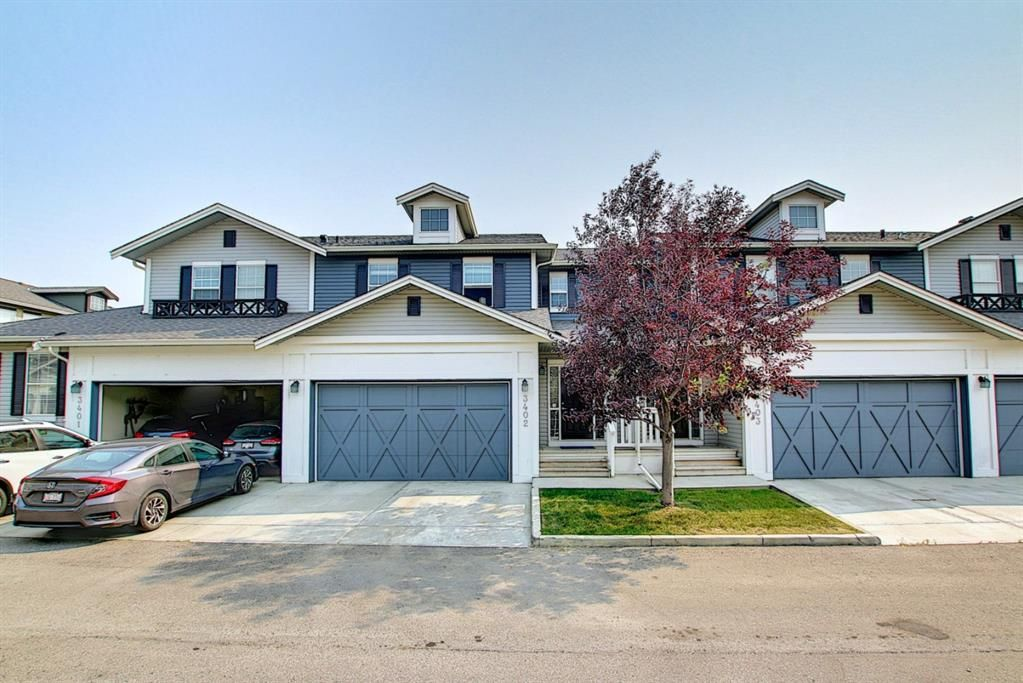 Main Photo: 3402 1001 8 Street NW: Airdrie Row/Townhouse for sale : MLS®# A1132707