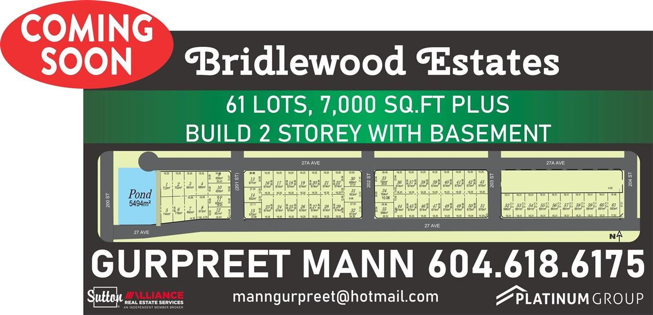 Main Photo: #LT.32 200 Street in Langley: Brookswood Langley Land for sale : MLS®# R2584682