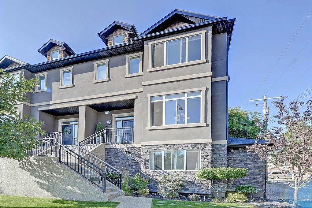 Main Photo: 3454 19 Avenue SW in Calgary: Killarney/Glengarry Row/Townhouse for sale : MLS®# C4203649