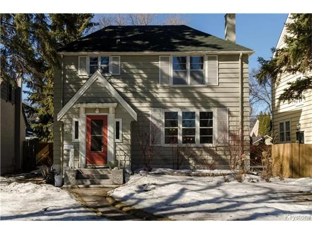 Main Photo: 315 Queenston Street in Winnipeg: River Heights North Residential for sale (1C)  : MLS®# 1705969