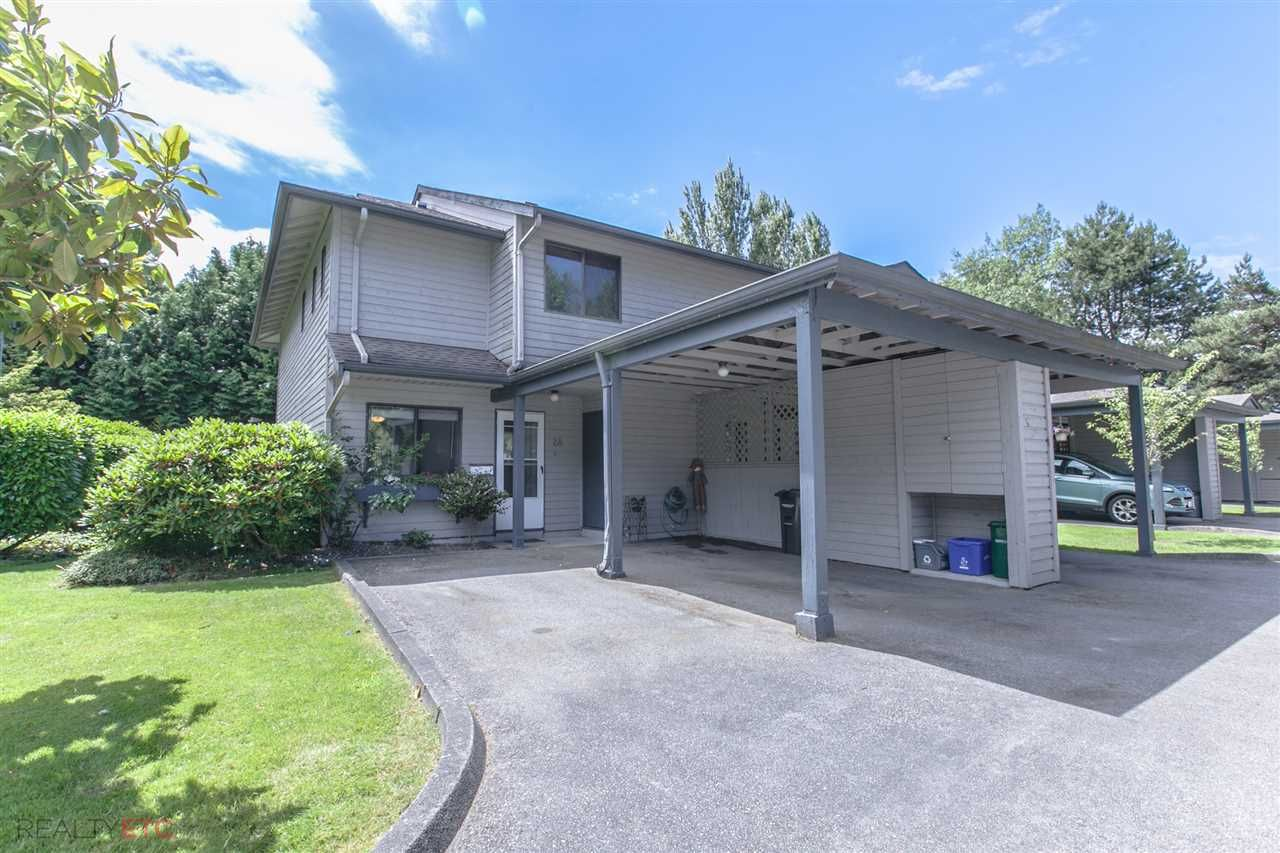 Main Photo: 28 7300 LEDWAY ROAD in : Granville Townhouse for sale : MLS®# R2182190