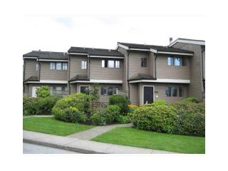 """Photo 1: 4 251 W 14TH Street in North Vancouver: Central Lonsdale Townhouse for sale in """"THE TIMBERS"""" : MLS®# V877713"""