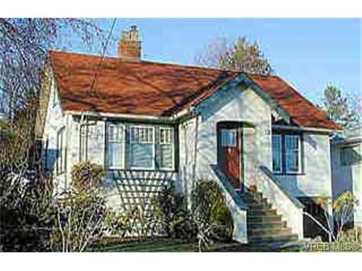 Main Photo: 1960 Taylor St in VICTORIA: SE Camosun House for sale (Saanich East)  : MLS®# 229624