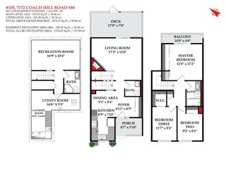 Photo 37: 105 7172 Coach Hill Road SW in Calgary: Coach Hill Row/Townhouse for sale : MLS®# A1053113