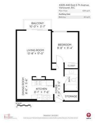 "Photo 15: 209 440 E 5TH Avenue in Vancouver: Mount Pleasant VE Condo for sale in ""Landmark Manor"" (Vancouver East)  : MLS®# R2156153"