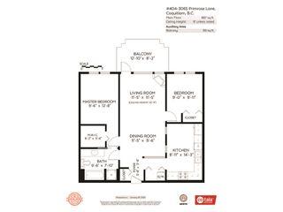 Photo 20: 404 3065 PRIMROSE LANE in Coquitlam: North Coquitlam Condo for sale : MLS®# R2428749