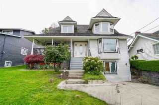 """Photo 1: 523 AMESS Street in New Westminster: The Heights NW House for sale in """"The Heights"""" : MLS®# R2573320"""