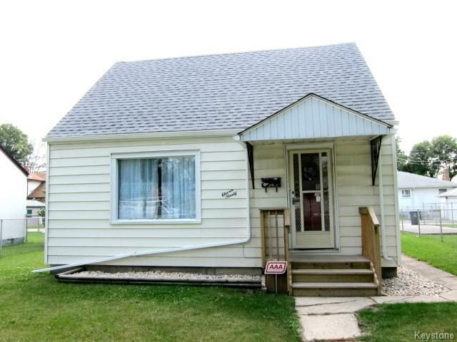 Main Photo: 1190 Magnus Avenue in WINNIPEG: North End Residential for sale (North West Winnipeg)  : MLS®# 1420549