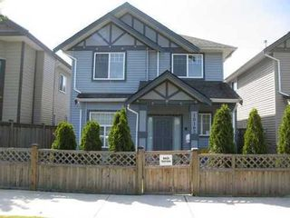 Photo 1: 10162 CAMBIE Road in Richmond: West Cambie Home for sale ()  : MLS®# V848372