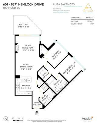 "Photo 39: 601 9371 HEMLOCK Drive in Richmond: McLennan North Condo for sale in ""MANDALAY"" : MLS®# R2603284"