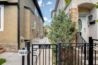 Photo 1: 2 720 56 Avenue SW in Calgary: Windsor Park Row/Townhouse for sale : MLS®# A1153375