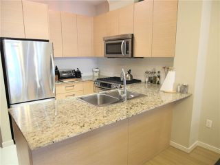 """Photo 3: 413 5775 IRMIN Street in Burnaby: Metrotown Condo for sale in """"Macpherson Walk"""" (Burnaby South)  : MLS®# V1015737"""