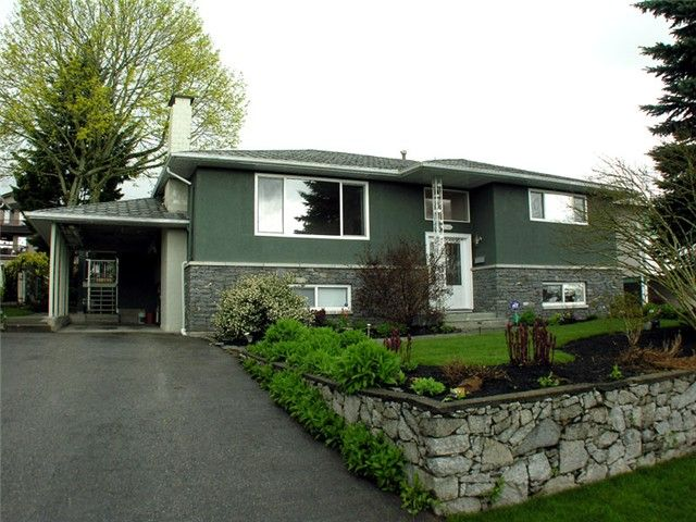 Front of the home with new landscaping
