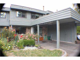 Photo 1: 142 3031 WILLIAMS ROAD in Richmond: Seafair Townhouse for sale : MLS®# V1141870