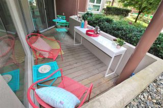 """Photo 15: 102 1240 QUAYSIDE Drive in New Westminster: Quay Condo for sale in """"TIFFANY SHORES"""" : MLS®# R2263673"""