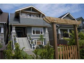 Photo 1: 3327 W. 2nd Avenue in Vancouver: Kitsilano House for sale (Vancouver West)  : MLS®# V921793