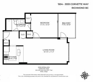 """Photo 29: 1504 3333 CORVETTE Way in Richmond: West Cambie Condo for sale in """"Wall Centre at the Marina"""" : MLS®# R2535983"""