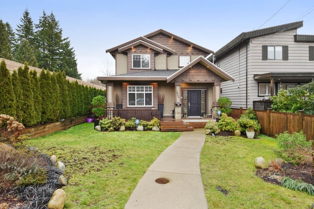 """Main Photo: 2460 LLOYD Avenue in North Vancouver: Pemberton Heights House for sale in """"PEMBERTON HEIGHTS"""" : MLS®# R2030093"""