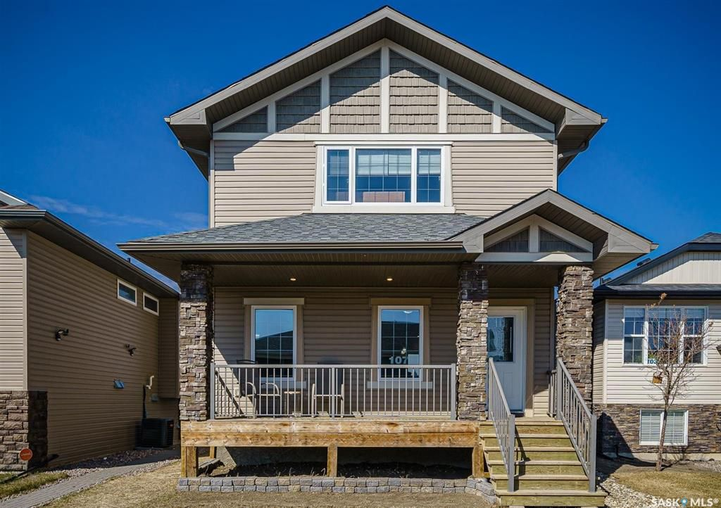 Main Photo: 107 Maningas Bend in Saskatoon: Evergreen Residential for sale : MLS®# SK852195