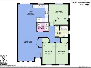 Photo 9: 1536 Charlotte St in CROFTON: Du Crofton Half Duplex for sale (Duncan)  : MLS®# 843745