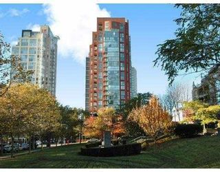 """Photo 1: 2203 907 BEACH Avenue in Vancouver: False Creek North Condo for sale in """"CORAL COURT"""" (Vancouver West)  : MLS®# V697746"""