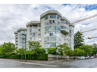 """Photo 1: 215 1442 FOSTER Street: White Rock Condo for sale in """"White Rock Square Tower 3"""" (South Surrey White Rock)  : MLS®# R2538444"""